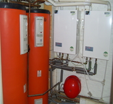 Complete commercial heating installation for care home.