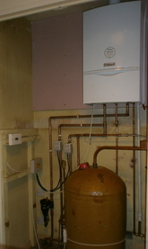 Vaillant system boiler partial upgrade.