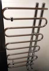 Towel rail dual fuel.