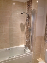 Shower bath refit.