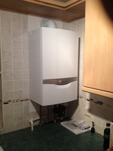 Installation of Vaillant 437.