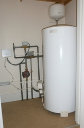 Artiston hot water cylinder installation.
